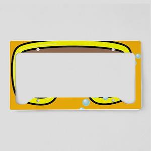 goggle_mpad_orange_N License Plate Holder