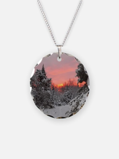 Winter Glow Necklace