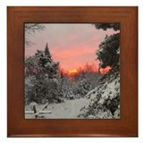Christmas tree Framed Tiles