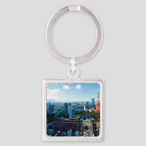 Tokyo Tower Square Keychain
