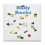 Rally 5 Tile Coaster