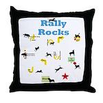 Rally 5 Throw Pillow