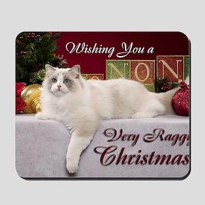 Linden Christmas Card Mousepad