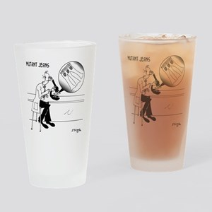 1031_biology_cartoon Drinking Glass