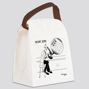 1031_biology_cartoon Canvas Lunch Bag