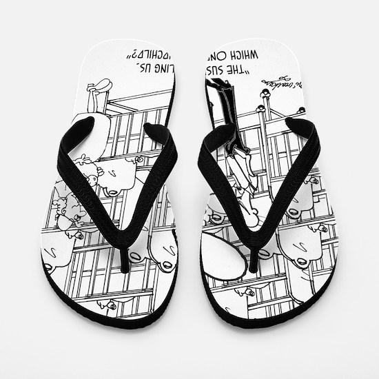 8159_baby_cartoon Flip Flops