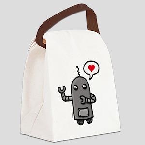 robotlove Canvas Lunch Bag