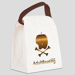 AdultBoating_logo_vertical Canvas Lunch Bag