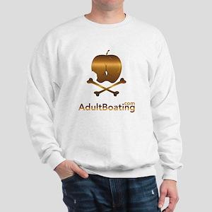 AdultBoating_logo_vertical Sweatshirt