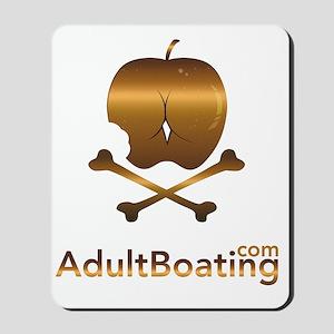 AdultBoating_logo_vertical Mousepad