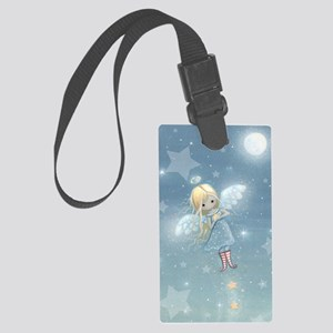 little star angel cp Large Luggage Tag