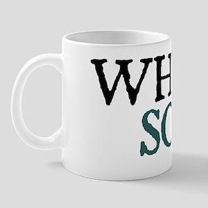 whitesoup copy Mug