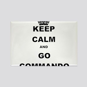 KEEP CALM AND GO COMMANDIO Magnets