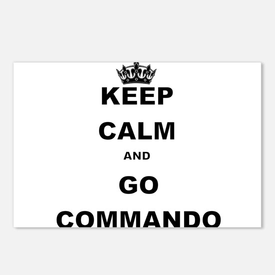 KEEP CALM AND GO COMMANDIO Postcards (Package of 8