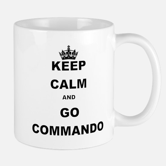 KEEP CALM AND GO COMMANDIO Mugs