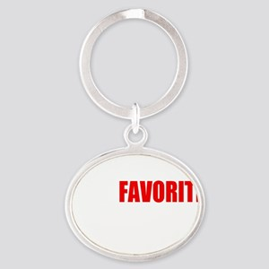 flynt flossy Oval Keychain