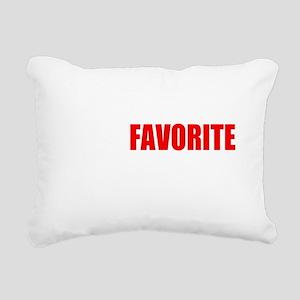 flynt flossy Rectangular Canvas Pillow
