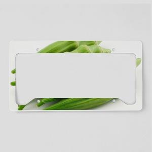 Okra License Plate Holder