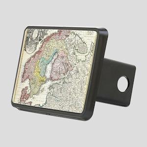 1730_Homann_Map_of_Scandin Rectangular Hitch Cover