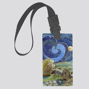 Home Is Where The Heart Is Large Luggage Tag