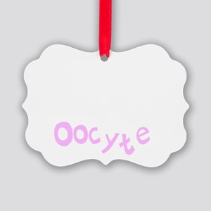 there are days in nursing OOCYTE  Picture Ornament