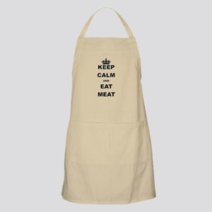 KEEP CALM AND EAT MEAT Apron