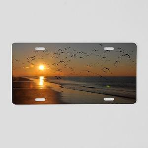 beach-calendar2012-earlybir Aluminum License Plate