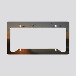 beach-calendar2012-earlybirds License Plate Holder