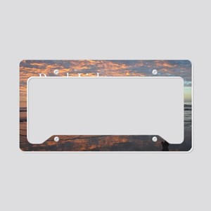 hiltonhead-calendar-cover License Plate Holder