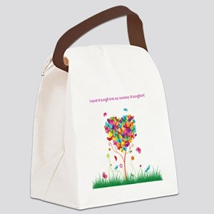 Tough Mommy Canvas Lunch Bag