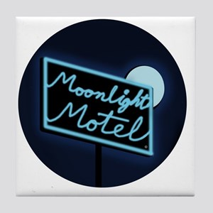 Moonlight Merchandise Circle Tile Coaster