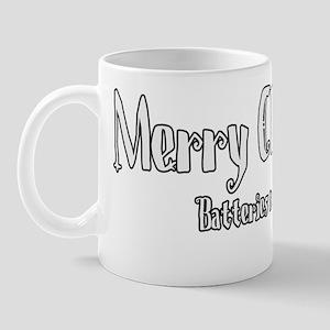 christmas batteries Mug