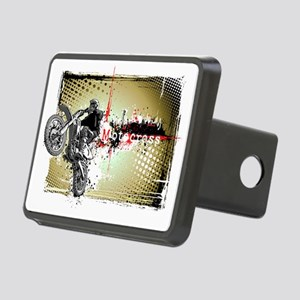 Motocross Puzzle 3 Rectangular Hitch Cover