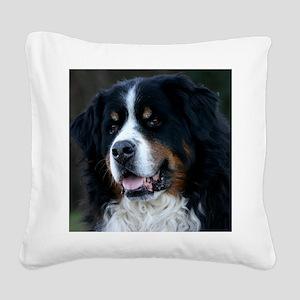wc_jan Square Canvas Pillow