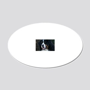 wc_jan 20x12 Oval Wall Decal
