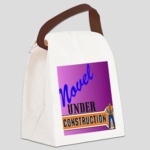 Novel Under Construction journal5 Canvas Lunch Bag