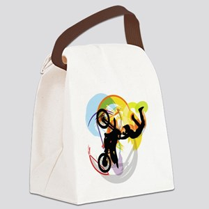 Motocross Puzzle 13 Canvas Lunch Bag