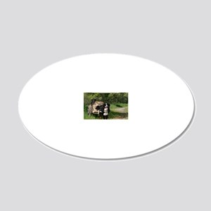 wc_front 20x12 Oval Wall Decal