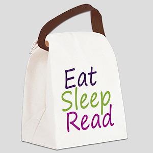 eatsleepread12-1-11 Canvas Lunch Bag
