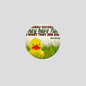 Succeed Quote on Jigsaw Puzzle Mini Button