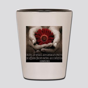 Great Affairs Quote on Jigsaw Puzzle Shot Glass