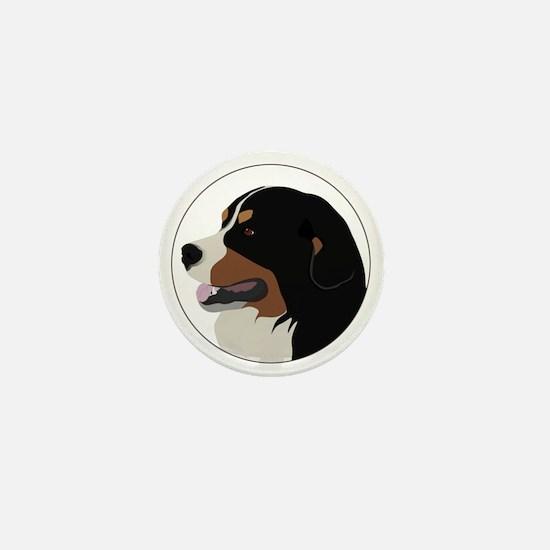 bernese_vector Mini Button
