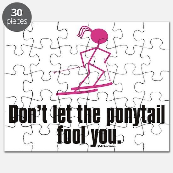 ski ponytail Puzzle