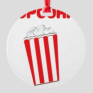 popcorn Round Ornament