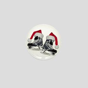 skates_christmas Mini Button