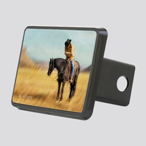 Quiet Times 5x7 greeting c Rectangular Hitch Cover