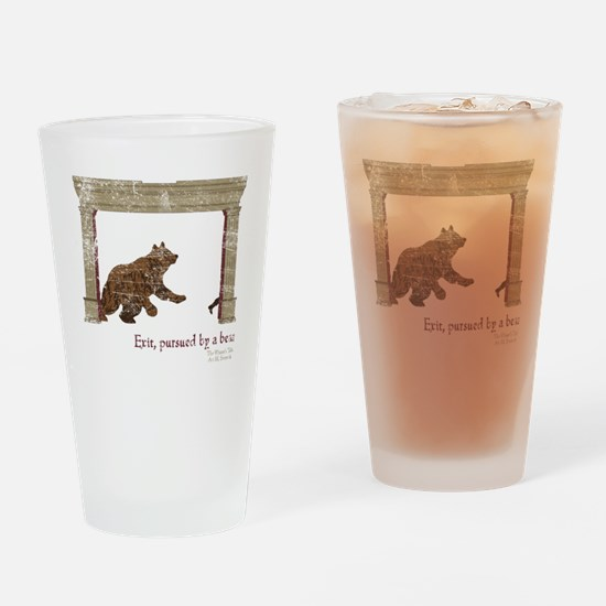 ShakesBear Drinking Glass