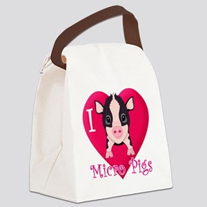 Micropig_N_multi Canvas Lunch Bag