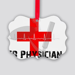 ER Physician Picture Ornament