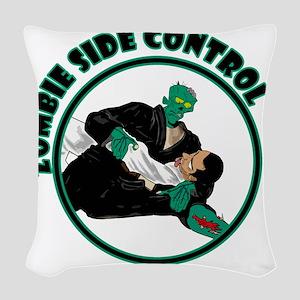 zombvuecontrol Woven Throw Pillow